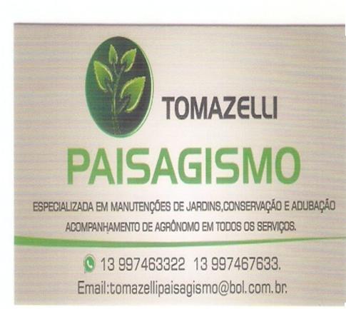 TOMAZELLI PAISAGISMO | Sicon