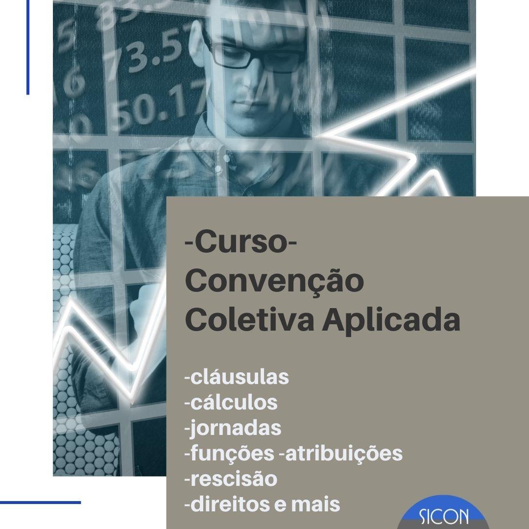Curso- Convenção Coletiva Aplicada- Para Funcionários de Adm.