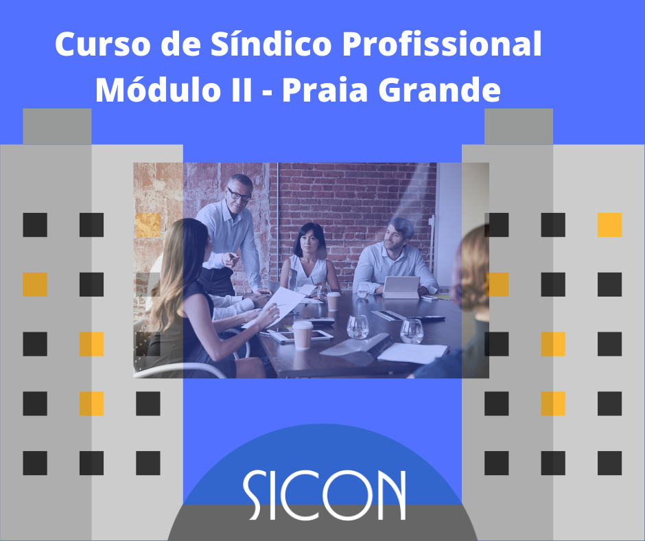 CURSO DE SÍNDICO PROFISSIONAL-Março-Módulo II - Praia Grande
